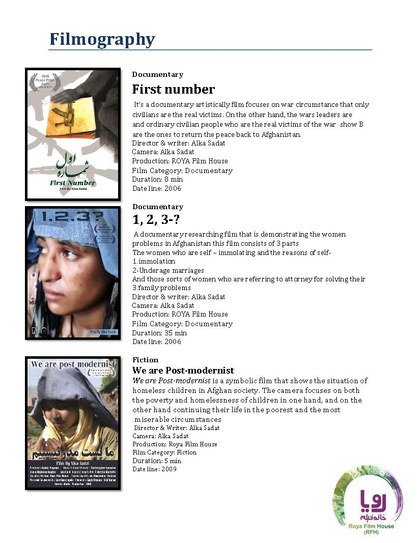 alka RFH Filmography 2003-2017_Page_1